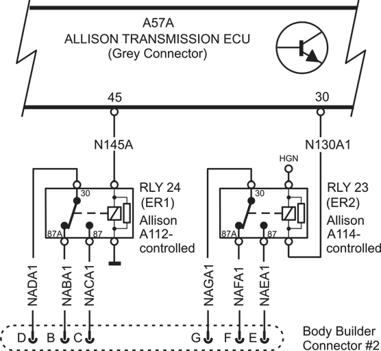 allison controlled relays