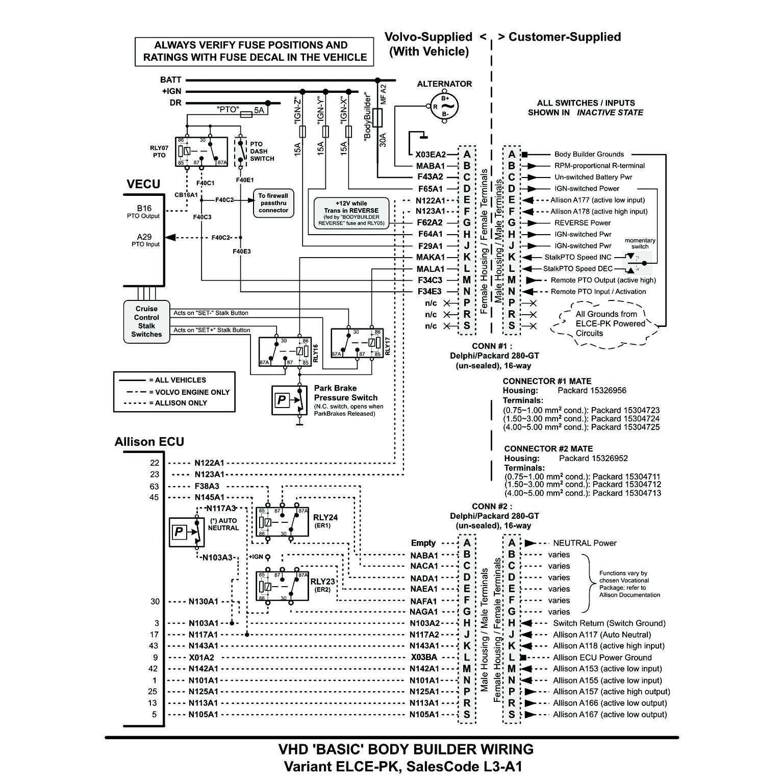 vhd body builder wiring
