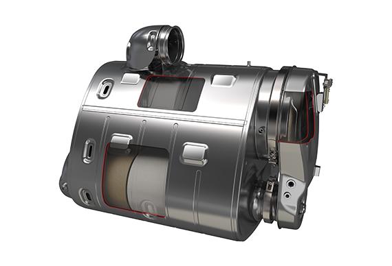 Volvo Genuine Diesel Particulate Filter (DPF)