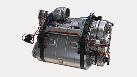 Volvo Trucks D11 engine -Aftertreatment