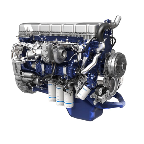 The Volvo D11 is a fuel efficient, lightweight engine designed to improve reliability and minimize cost of operation.