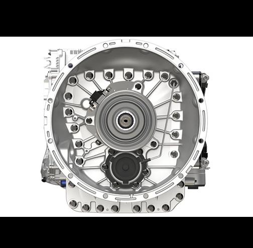 Volvo Trucks I-Shift- transmission front view 306-1