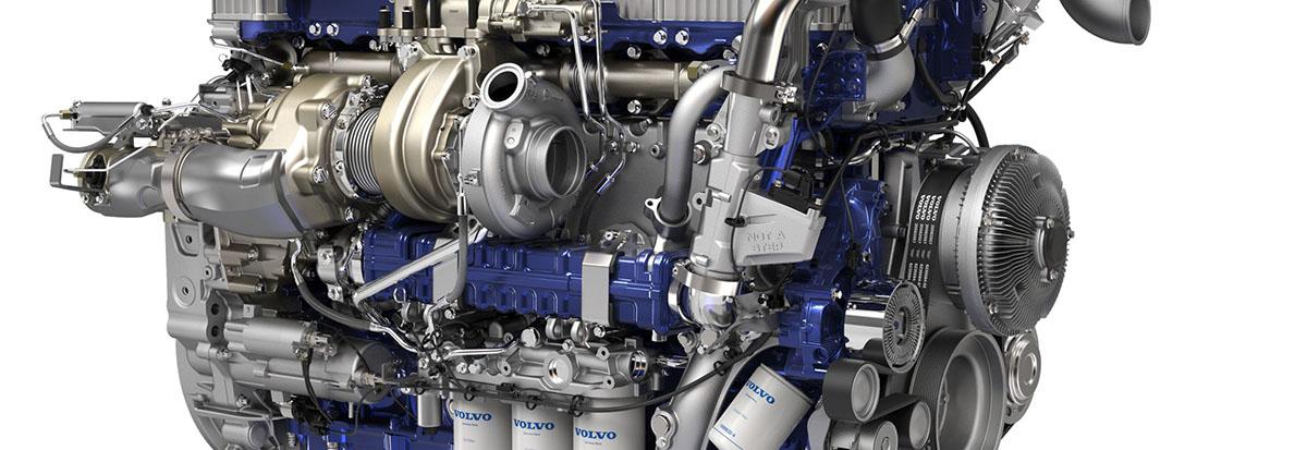 Volvo Truck Engine