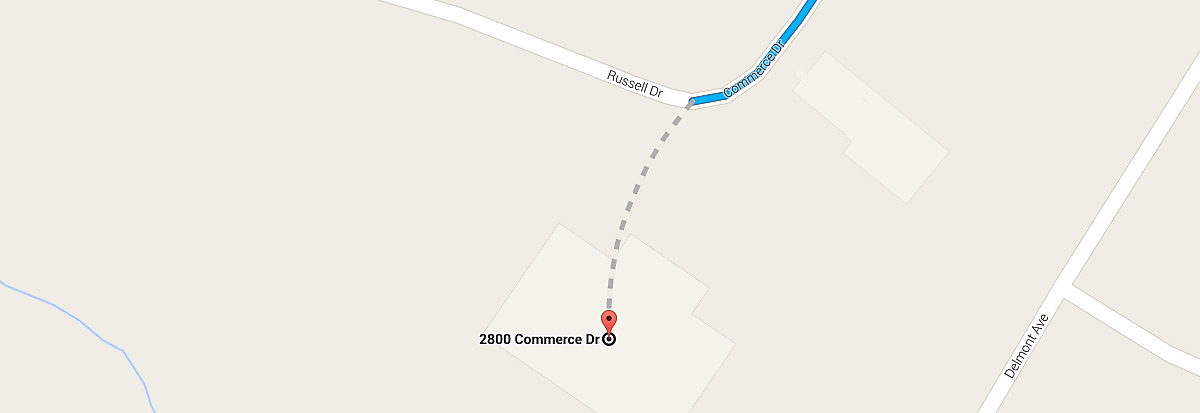a Google map screenshot