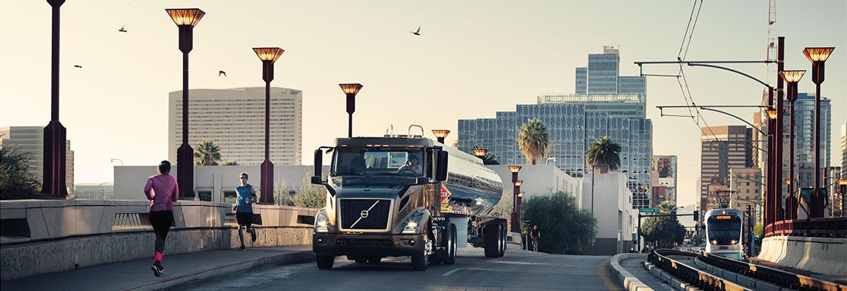 Volvo Trucks VNR Tanker_Hero