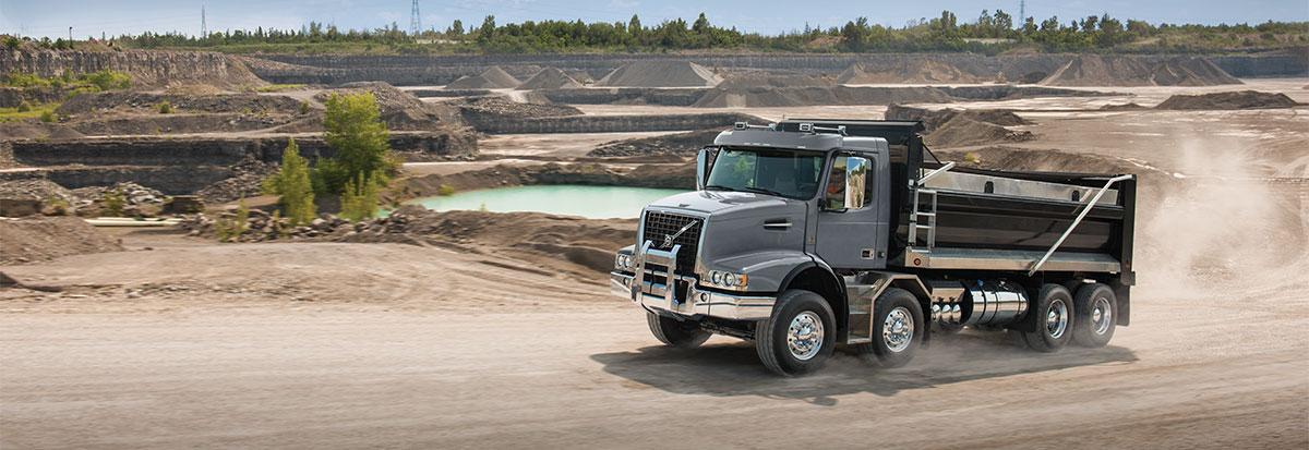 Volvo Trucks VHD Dump truck-Hero