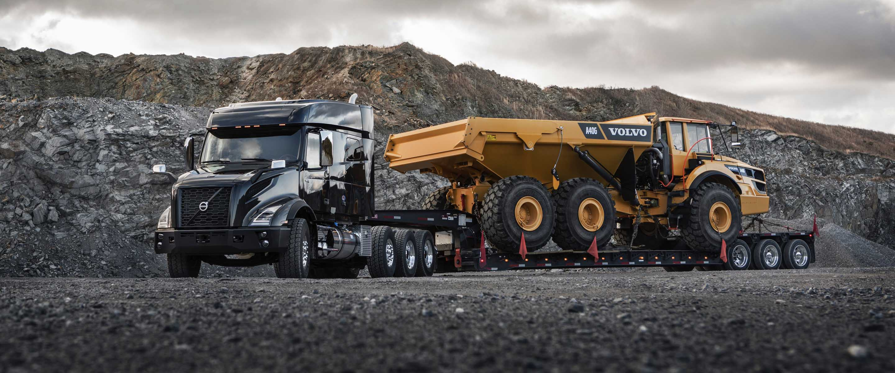 Volvo VNX heavy haul truck meets performance and profit.