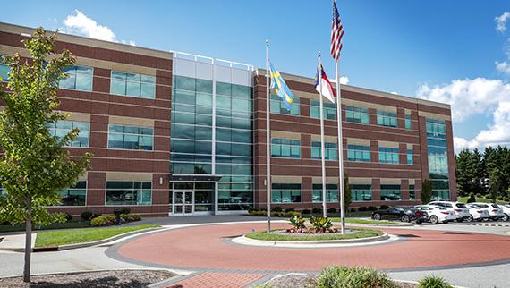 Uptime Center at Greensboro headquarters