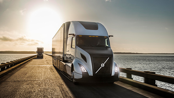 Volvo introduces the revolutionary SuperTruck