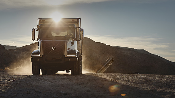 Volvo introduces the new VHD