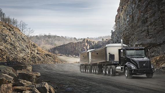 Volvo introduces the new VNX