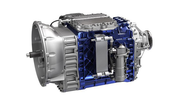 a Volvo I-Shift engine with auto neutral