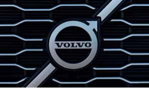 Volvo Trucks Grill with Volvo Logo