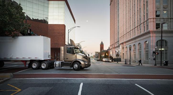 Volvo Truck Maneuverability
