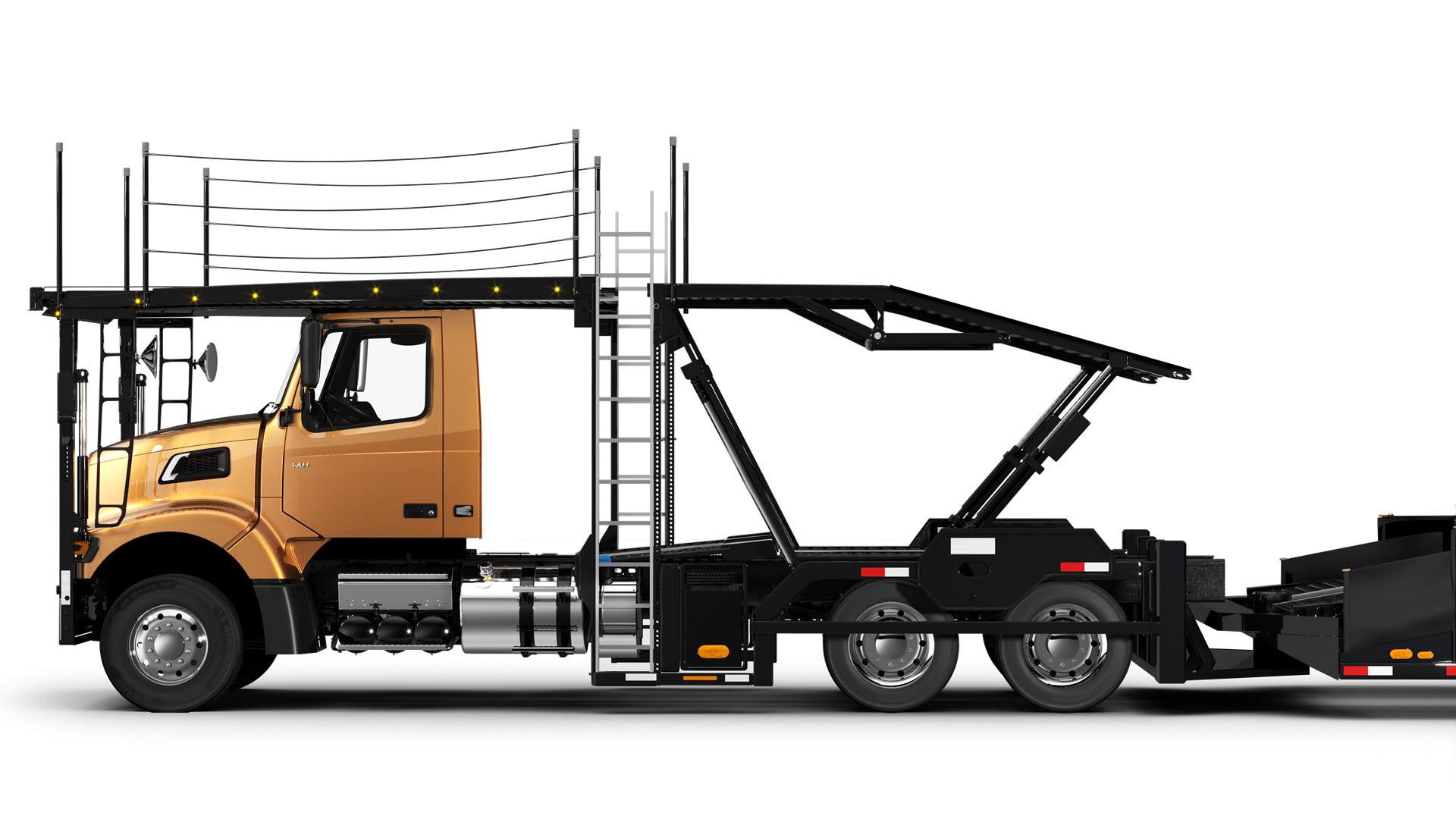 Volvo Trucks auto hauler VAH-300-side view
