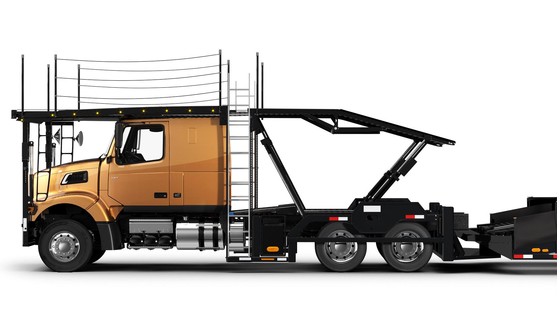 Volvo Trucks auto hauler VAH-400-side view