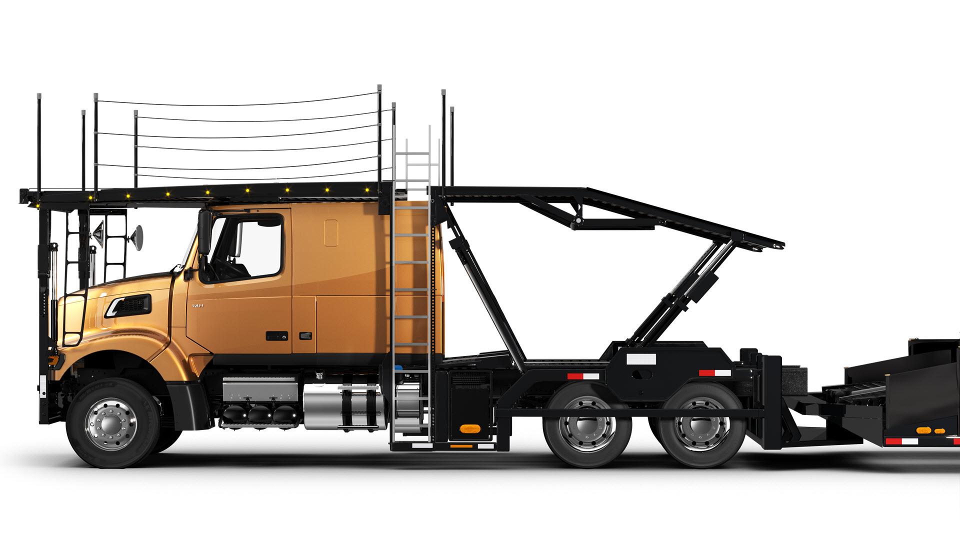Volvo Trucks auto hauler VAH-600-side view