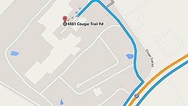 a Google map screenshot