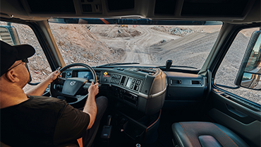 Volvo Truck VHD Driver cabin interior