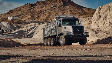 Volvo Truck VDN at Mining site
