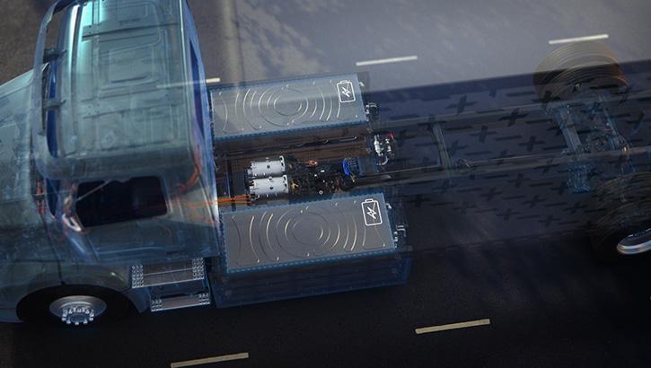 Volvo VNR Electric-Batteries