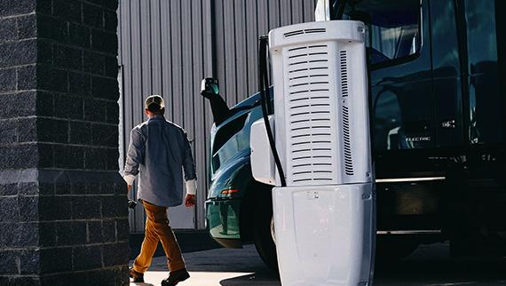 Volvo Trucks VNR Electric Charging-Infrastructure