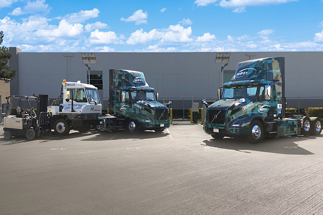 NFI Chino Trucks Charger Yard Truck Forklift Alternate
