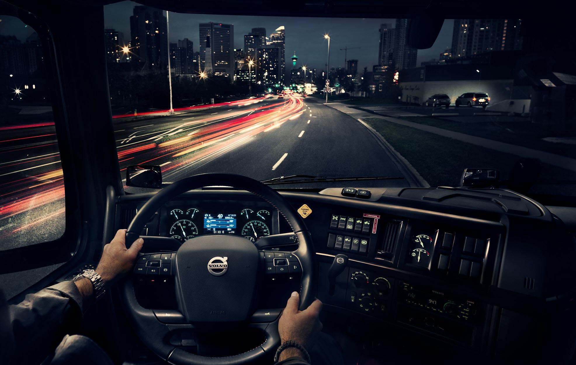 Volvo Trucks driver cabin